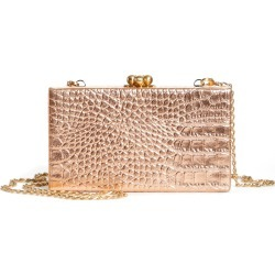 Edie Parker Jean Embossed Leather Box Clutch - (Nordstrom Exclusive) found on MODAPINS from LinkShare USA for USD $518.00