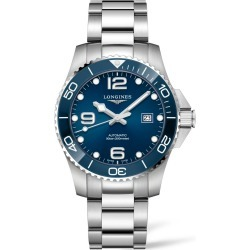 Longines Hydroconquest Automatic Bracelet Watch, 43mm found on MODAPINS from Nordstrom for USD $1600.00
