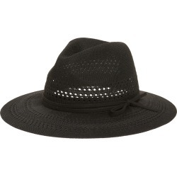Women's Treasure & Bond Packable Knit Panama Hat - Black found on Bargain Bro India from Nordstrom for $39.00
