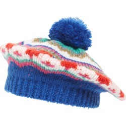 Toddler Girl's Mini Boden Fair Isle Sparkle Beret - Blue found on Bargain Bro India from Nordstrom for $26.00