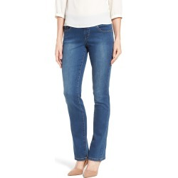 Women's Jag Jeans Peri Pull-On Straight Leg Jeans, Size 4 - Blue found on MODAPINS from Nordstrom for USD $74.00