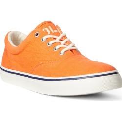 Men's Polo Ralph Lauren Harpoon Sneaker, Size 9 D - Orange found on Bargain Bro India from Nordstrom for $75.00