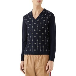 Men's Gucci Wool V-Neck Sweater found on MODAPINS from Nordstrom for USD $1200.00
