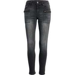 Women's 1822 Denim Ankle Skinny Jeans, Size 31 - Grey found on Bargain Bro from Nordstrom for USD $37.24