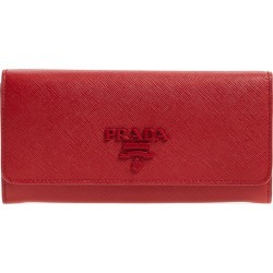 Women's Prada Monochrome Continental Wallet - Red found on MODAPINS from Nordstrom for USD $750.00