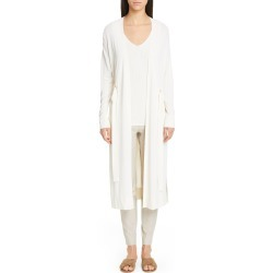 Women's Lafayette 148 New York Relaxed Duster, Size Large - Ivory found on MODAPINS from Nordstrom for USD $798.00