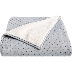Splendid Home Decor Fleece & Jersey Hashtag Blanket Throw found on Bargain Bro India from Nordstrom for $70.00