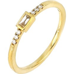 Women's Bony Levy Katharine Baguette Diamond Stacking Ring (Nordstrom Exclusive) found on Bargain Bro India from Nordstrom for $895.00