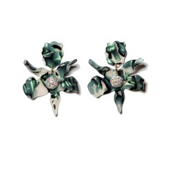 Women's Lele Sadoughi Small Crystal Lily Earrings found on Bargain Bro Philippines from Nordstrom for $168.00