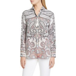 Women's Etro Paisley Print Silk Blouse found on MODAPINS from LinkShare USA for USD $360.00