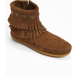 Women's Minnetonka Double Fringe Boot, Size 7.5 M - Brown found on Bargain Bro Philippines from Nordstrom for $69.95