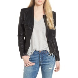 Women's Blanknyc Faux Leather Jacket, Size Large - Black found on Bargain Bro from Nordstrom for USD $74.48