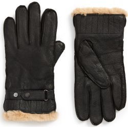 Men's Barbour Leather Gloves, Size Large - Black found on Bargain Bro India from Nordstrom for $100.00