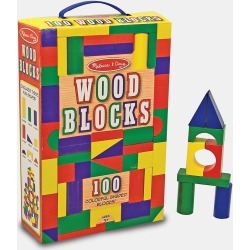 Toddler Melissa & Doug Painted Blocks found on Bargain Bro India from Nordstrom for $19.99
