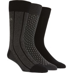Men's Calvin Klein 3-Pack Cotton Blend Socks found on MODAPINS from LinkShare USA for USD $17.50