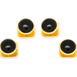 Men's Cufflinks, Inc. Onyx Shirt Studs found on Bargain Bro India from Nordstrom for $50.00