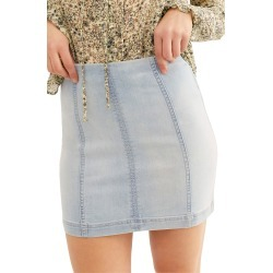 Women's We The Free By Free People Modern Denim Miniskirt, Size 2 - Blue found on MODAPINS from LinkShare USA for USD $50.00