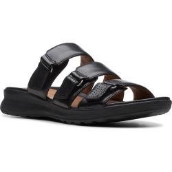 Women's Clarks Unadorn Lane Slide Sandal, Size 7.5 W - Black found on Bargain Bro Philippines from LinkShare USA for $109.95