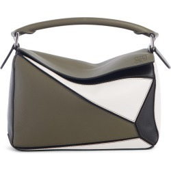 Loewe Small Puzzle Colorblock Leather Bag - Green found on Bargain Bro Philippines from Nordstrom for $2600.00
