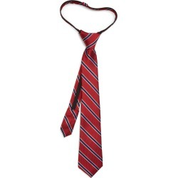 Boy's Nordstrom Kade Stripe Silk Zipper Tie found on Bargain Bro Philippines from Nordstrom for $14.40