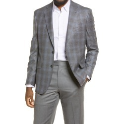 Men's Ted Baker London Jay Trim Fit Melange Wool Sport Coat, Size 42 Short - Grey found on MODAPINS from Nordstrom for USD $349.00
