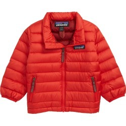 Infant Boy's Patagonia Down Jacket, Size 6-12M - Red