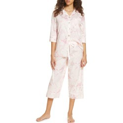 Women's Papinelle Water Blossom Crop Pajamas found on MODAPINS from Nordstrom for USD $85.00