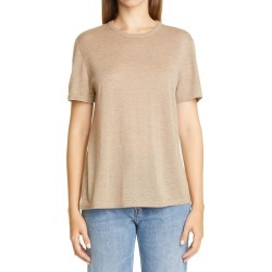 Women's Co Essentials Cashmere Sweater T-Shirt, Size Small - Beige found on Bargain Bro from Nordstrom for USD $376.20
