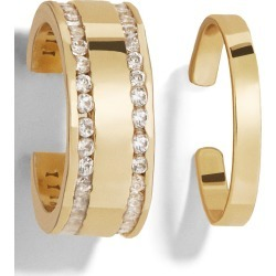 Women's Baublebar Michele Set Of 2 Ear Cuffs found on Bargain Bro India from Nordstrom for $34.00