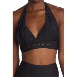Athena Solid Halter Swim Bra at Nordstrom Rack found on MODAPINS from Hautelook for USD $68.00