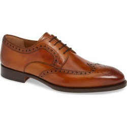 Men's Magnanni Hampton Wingtip Oxford, Size 8 M - Brown found on Bargain Bro from Nordstrom for USD $180.12