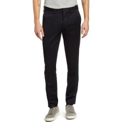 Men's Nordstrom Men's Shop Slim Fit Non-Iron Chinos, Size 32 x 30 - Black found on Bargain Bro India from Nordstrom for $44.75