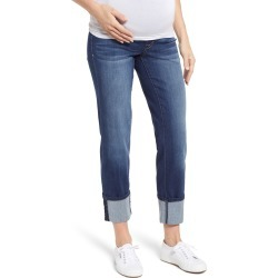 Women's 1822 Denim Cuff Straight Leg Maternity Jeans found on MODAPINS from Nordstrom for USD $59.00