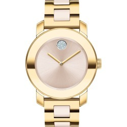 Women's Movado Bold Pave Dot Ceramic Bracelet Watch, 36mm found on Bargain Bro India from Nordstrom for $590.75