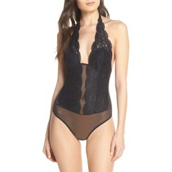 Women's B.tempt'D By Wacoal Ciao Bella Lace Bodysuit, Size Large - Black found on Bargain Bro India from Nordstrom for $37.50