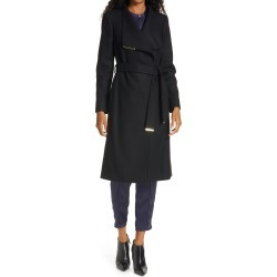 Women's Ted Baker London Rose Wool & Cashmere Blend Wrap Coat