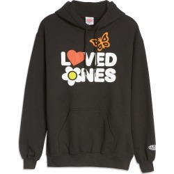 Women's Petals And Peacocks Loved Ones Graphic Hoodie, Size Large - Black found on Bargain Bro India from Nordstrom for $64.00
