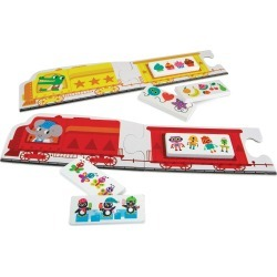Toddler Peaceable Kingdom Chugga Choo Puzzle Game