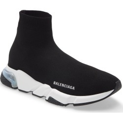 Men's Balenciaga Speed Lt Clear Sole Sock Sneaker, Size 7US - Black found on MODAPINS from Nordstrom for USD $850.00
