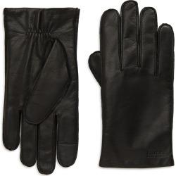 Men's Boss Kranton Leather Gloves, Size 8.5 - Black found on MODAPINS from Nordstrom for USD $98.00