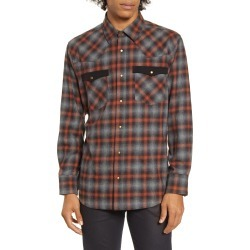 Men's Barking Irons X Bob Dylan Upstate Regular Fit Plaid Shirt found on Bargain Bro India from Nordstrom for $107.98
