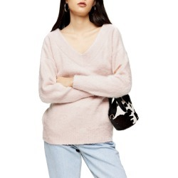Women's Topshop V-Neck Sweater found on MODAPINS from Nordstrom for USD $32.97