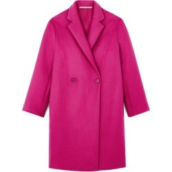 Women's Stella Mccartney Blackwood Double Breasted Wool Blend Coat, Size 6 US - Pink found on Bargain Bro India from Nordstrom for $1825.00