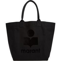 Isabel Marant Yenky Logo Canvas Tote - Black found on Bargain Bro Philippines from Nordstrom for $165.00