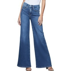 Women's Good American Good Pallazo Wide Leg Jeans found on MODAPINS from LinkShare USA for USD $179.00