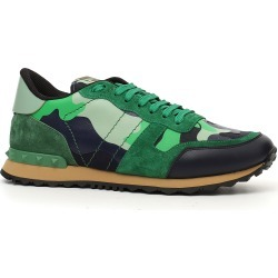 Men's Valentino Garavani Camo Rockrunner Sneaker, Size 10US - Green found on MODAPINS from Nordstrom for USD $795.00