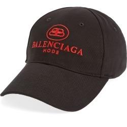 Men's Balenciaga Embroidered Logo Baseball Cap - Black found on Bargain Bro Philippines from LinkShare USA for $450.00