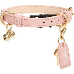 Tommy & Bella Leather Cat Collar, Size One Size - Pink found on Bargain Bro Philippines from LinkShare USA for $55.00