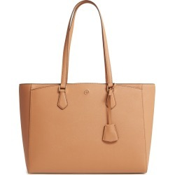 Tory Burch Robinson Saffiano Leather Tote - Brown found on Bargain Bro India from Nordstrom for $348.00