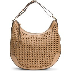 Frye Melissa Woven Leather Hobo - Brown found on Bargain Bro India from LinkShare USA for $428.00